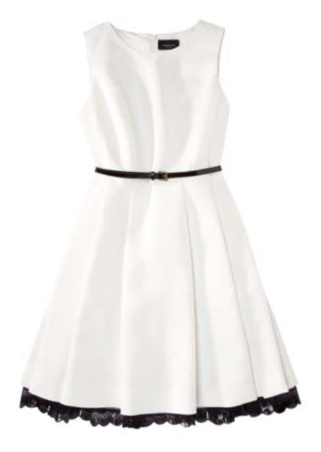 This white, flared Jason Wu dress was a favorite amongst online shoppers.