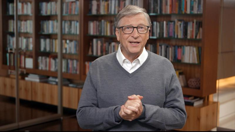 UNSPECIFIED - JUNE 24: In this screengrab, Bill Gates speaks during All In WA: A Concert For COVID-19 Relief on June 24, 2020 in Washington. (Photo by Getty Images/Getty Images for All In WA) (Photo: Getty Images via Getty Images)