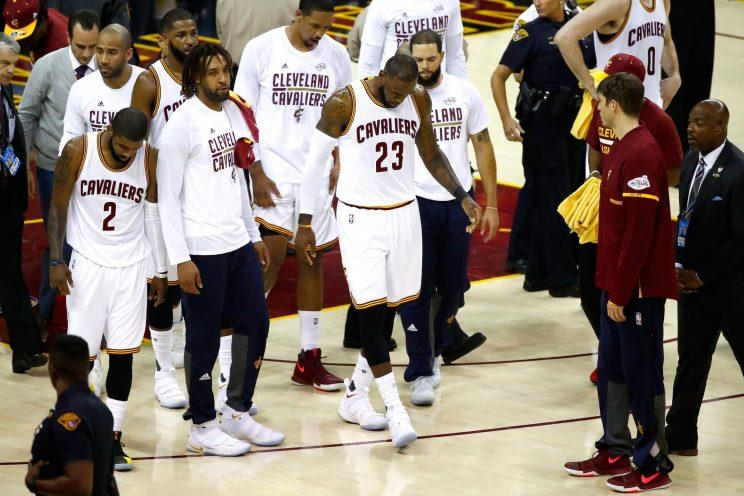 It could be difficult for the Cavs to get better this offseason. (Getty Images)