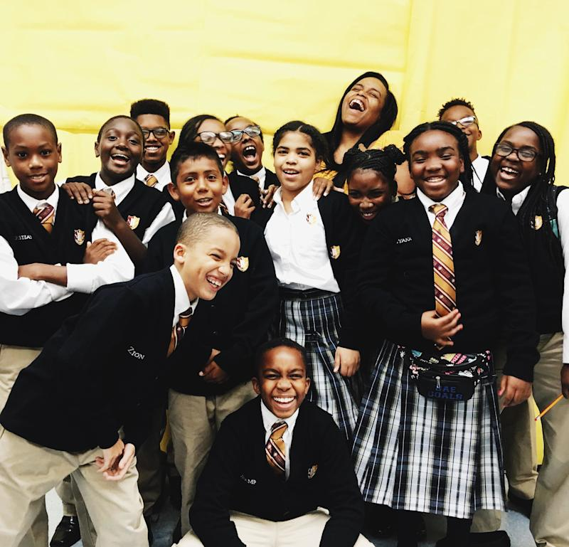 Erica Buddington came up with a brilliant way to teachher scholars geography.