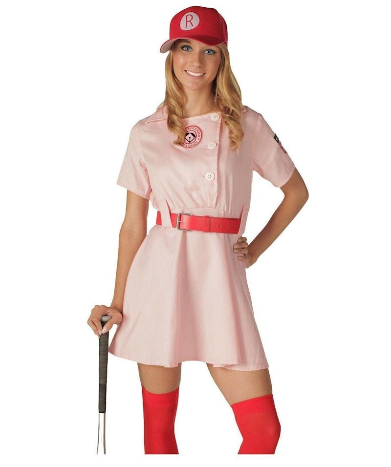 "<a href=""https://www.target.com/p/a-league-of-their-own-women-s-rockford-peaches-costume/-/A-14161260#lnk=sametab&preselect=14132176"" target=""_blank"">Shop them here</a>."