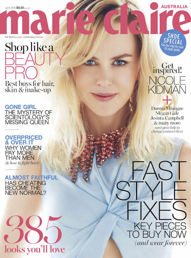 Nicole Kidman Gets Candid About Marriaeg ANd Family In OUr APril Issue
