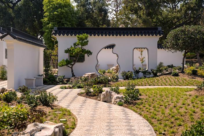 The Verdant Microcosm in the Huntington's Chinese Garden.