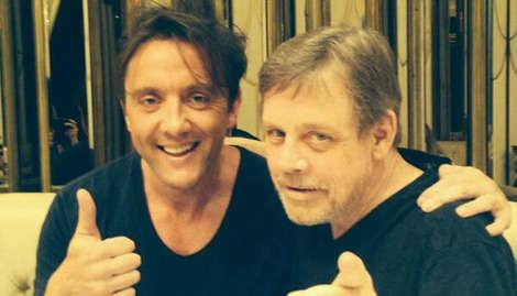 Mark Hamill spotted in London ahead of Star Wars VII filming.
