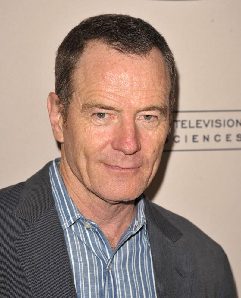 """FILE - In thsi Aug. 20, 2012 file photo, Bryan Cranston attends the Academy of Television Arts and Sciences' Performers Peer Group Reception at the Sheraton Universal Hotel in Los Angeles. Cranston, who is nominated for an Emmy for his role on """"Breaking Bad,"""" which won him the Emmy Award three years in a row, grew up on """"The Andy Griffith Show."""" (Photo by John Shearer/Invision/AP, File)"""