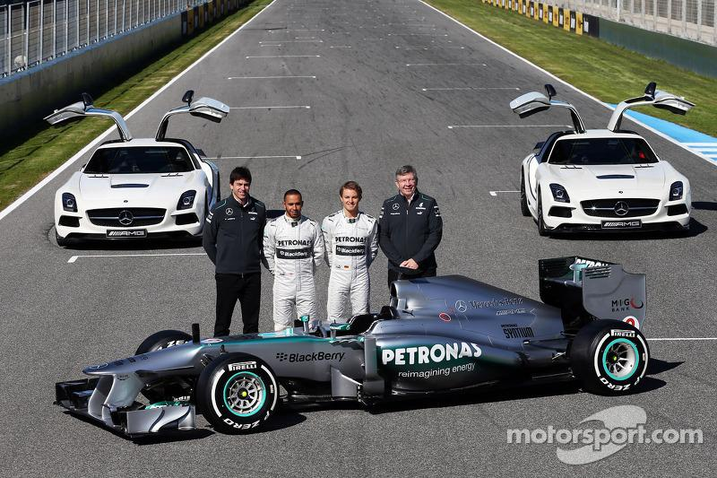 """2013: Mercedes F1 W04<span class=""""copyright"""">XPB Images</span>"""