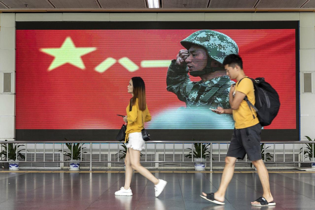How China Is Trying to Quell Hong Kong's Protests Without Troops