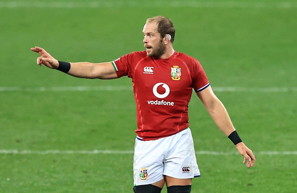 Alun Wyn Jones has made a remarkable recovery to captain the Lions on Saturday. (Getty Images)