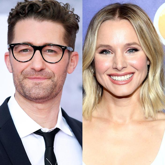 """<p>Like many fans of show choir tunes, Kristen Bell <em>really</em> loved <em>Glee</em>. But her connection to the FOX musical comedy stems from her <a href=""""https://www.usmagazine.com/celebrity-body/news/kristen-bell-reveals-she-once-dated-glees-matt-morrison-2010239/"""" rel=""""nofollow noopener"""" target=""""_blank"""" data-ylk=""""slk:relationship"""" class=""""link rapid-noclick-resp"""">relationship </a>with Mr. Will Schuester himself, Matthew Morrison. Not only did the two attend New York University's Tisch School of the Arts together (Morrison later dropped out to star in the Broadway production of 'Footloose'), but Bell and Morrison also briefly dated before they ever made it big!</p>"""