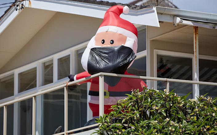 Christmas has been cut short in Sydney this year - GETTY IMAGES
