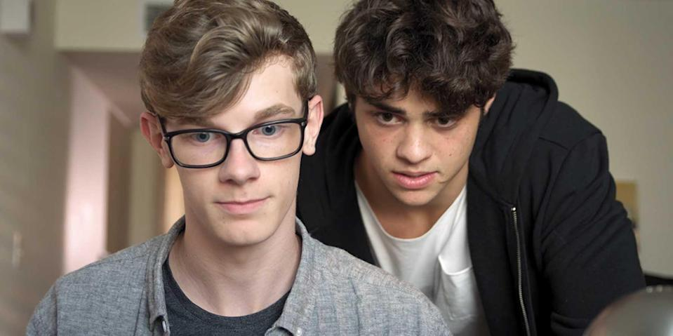 """<p>Noah Centineo stars in this comedy that follows a ladies man and tech genius who become roommates in college. One loves his computer and the other loves women, so together they develop a hook-up app that helps people on their new college campus where everyone can, you know, get to know each other, if you will.</p> <p>Watch <a href=""""https://www.netflix.com/title/81060038?so=su"""" class=""""link rapid-noclick-resp"""" rel=""""nofollow noopener"""" target=""""_blank"""" data-ylk=""""slk:Swiped""""><strong>Swiped</strong></a> on Netflix now.</p>"""