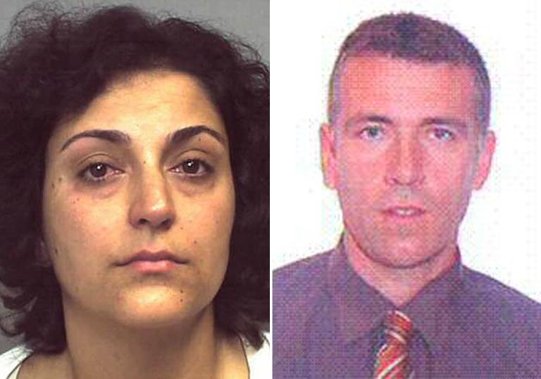 A combination of undated handout pictures released by Britain's Hampshire Police on August 29, 2014 shows Naghemeh King (L) and Brett King (R) the parents of five-year-boy Ashya King (AFP Photo/-)