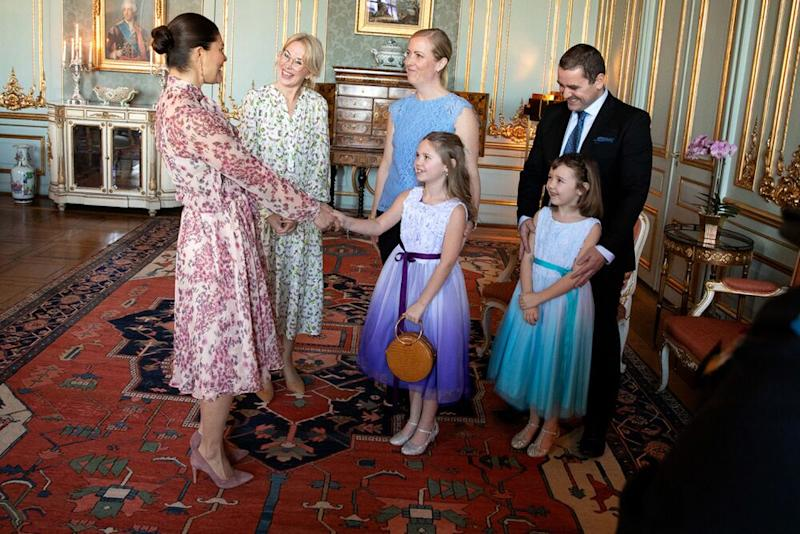 Princess Victoria meets Emilia and her family at the Royal Palace | Sara Friberg Kungl. Hovstaterna