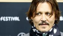 Actor Depp poses at the 16th Zurich Film Festival in Zurich