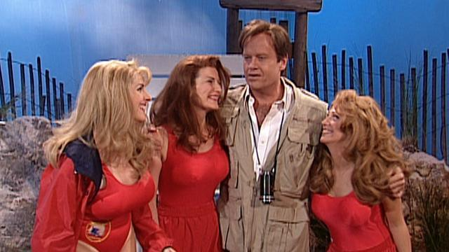 'Saturday Night Live' #TBT: 'Baywatch' With a Side of Therapy