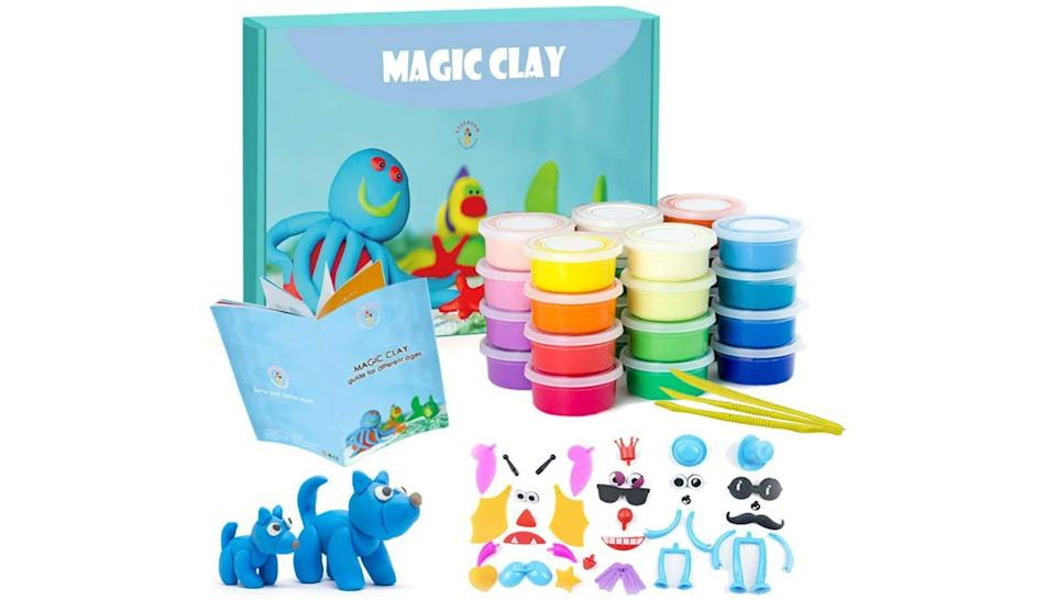 This clay set will keep you and the kids entertained for hours.