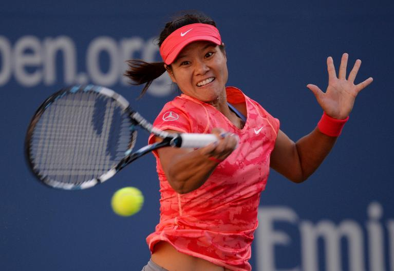 China's Li Na during her US Open match against Serena Williams in New York on September 6, 2013