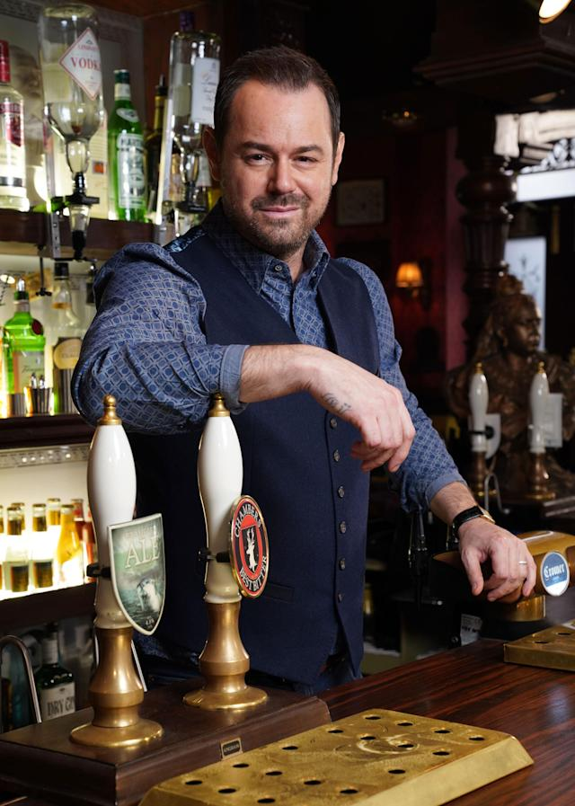 Danny Dyer in EastEnders. (BBC One)