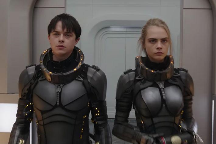 First trailer for outer space saga 'Valerian' finds Luc Besson back in his element