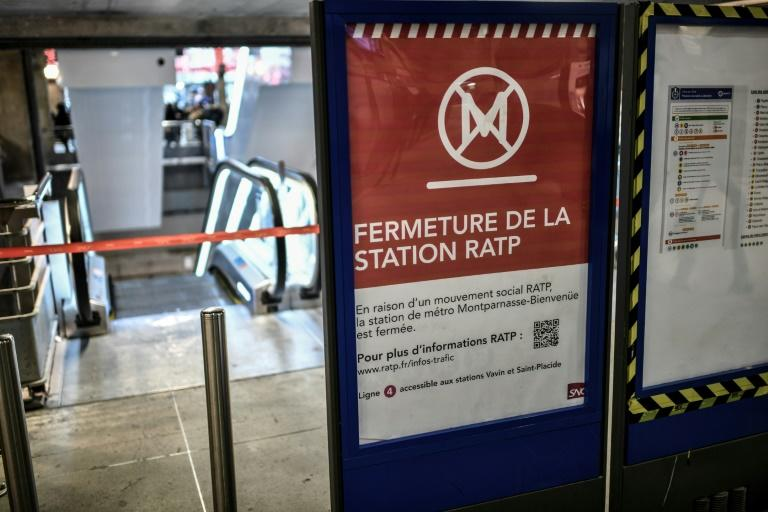 Public transport in Paris has been crippled by strike over pension reforms now in its fourth week