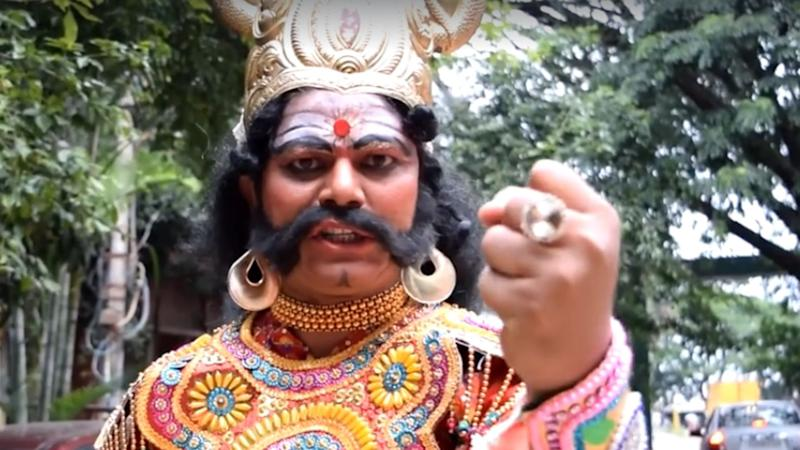 Bengaluru: Yamraj does Kiki, only to warn you against it!