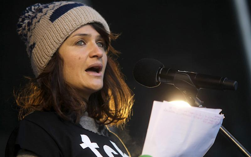 Helena Christensen is a well known climate change activist - KAY NIETFELD/DPA