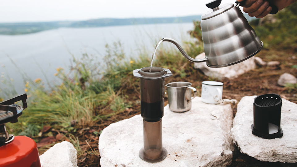 The best gifts for travelers: AeroPress Go Travel Coffee Press