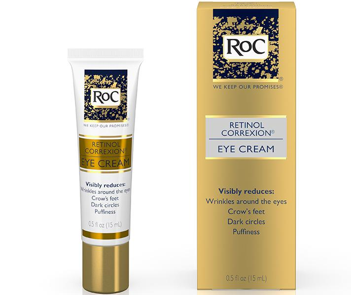 "<p><span>RoC Retinol Correxion Eye Cream, $24.49; at <a rel=""nofollow"" href=""http://www.cvs.com/shop/beauty/skin-care/face/roc-retinol-correxion-eye-cream-0-5-oz-prodid-1020251"">CVS Pharmacy </a></span></p>"