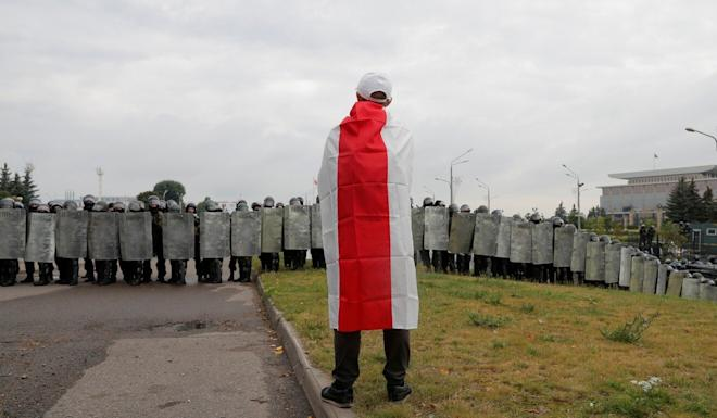 Belarus' participation in the drill comes amid intense international scrutiny and mass protests. Photo: Reuters