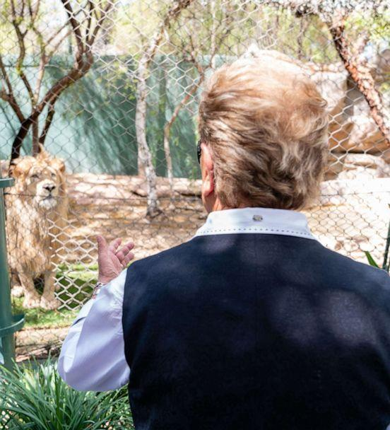 PHOTO: Famed entertainer Siegfried speaks to ABC News in an exclusive interview. (Cashman Photo of Nevada)