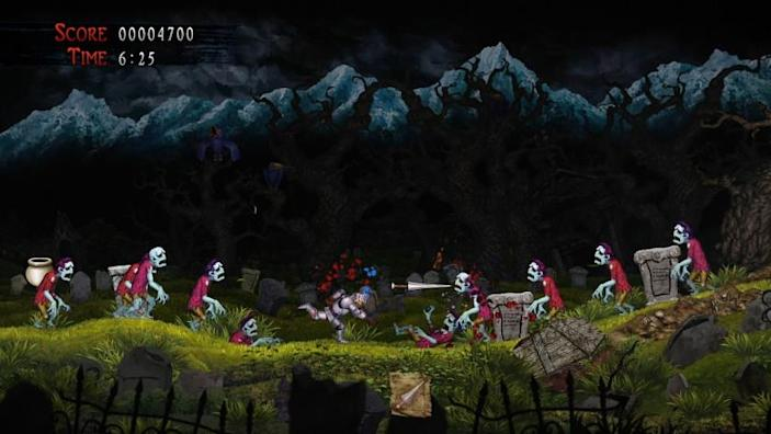 "Familiar sights get re-imagined in ""Ghosts 'n Goblins Resurrection,"" a storybook-revamp of the famed franchise."