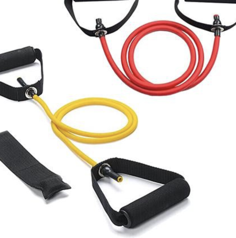 Yoga resistance bands. (PHOTO: Shopee)
