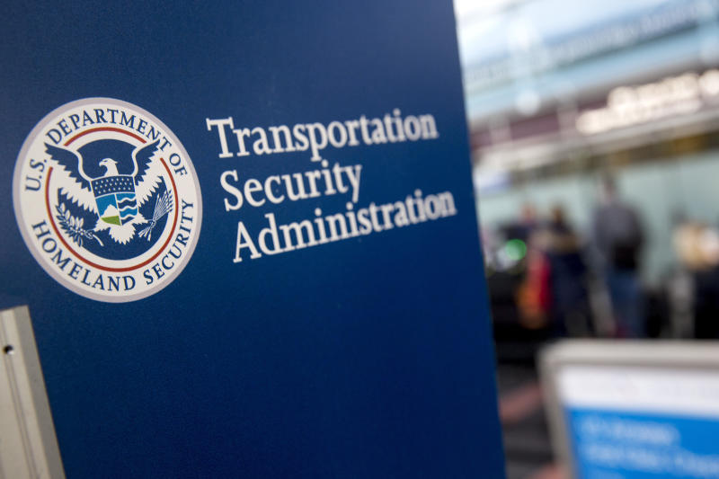 TSA Officers Work As Homeland Security Shutdown Nears Amid Immigration Impasse