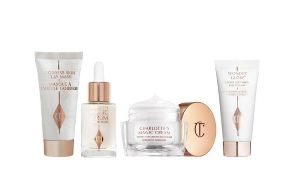 Charlotte Tilbury Charlotte's Magic Skin Secrets Skincare Set. (PHOTO: Sephora)