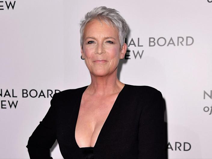 Jamie Lee Curtis attends the 2020 National Board Of Review Gala on 8 January 2020 in New York City (ANGELA WEISS/AFP via Getty Images)