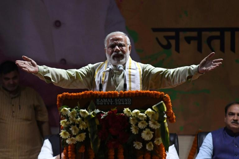 India's top court has said three senior members of Prime Minister Narendra Modi's (pictured) ruling Bharatiya Janata Party (BJP) should face criminal conspiracy charges