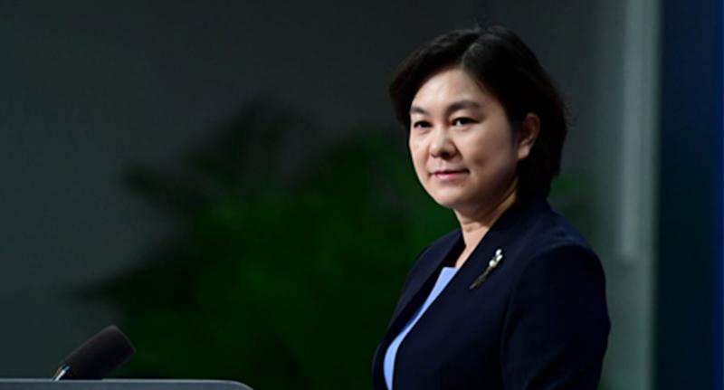 China's Foreign Ministry spokesperson Hua Chunying called out Scott Morrison.