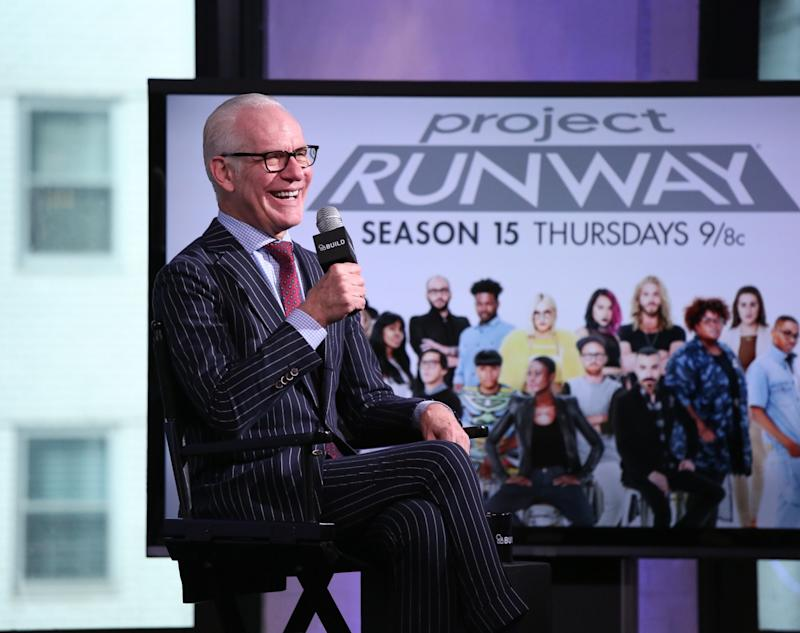 Tim Gunn acts as a mentor and educator on Lifetime's 'Project Runway'. (Photo: Getty Images)