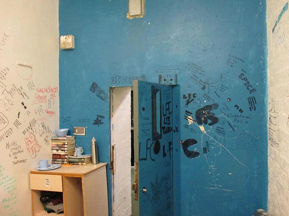 """Many cells were """"not fit to be used and should have been decommissioned"""", according to Chief Inspector of Prisons Peter Clarke (PA)"""