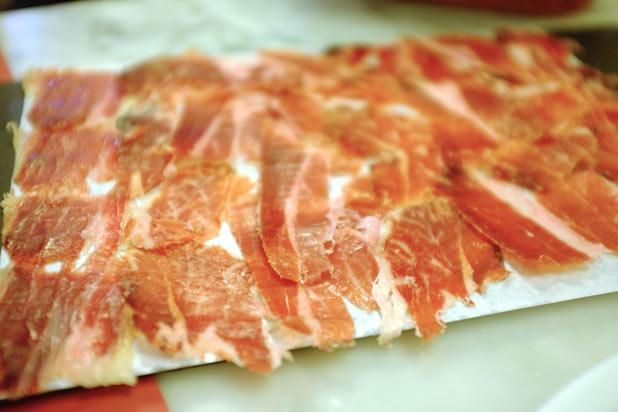 <p>We might ruffle some feathers by saying this, but   just might be the best ham in the world. Subtle in flavor, smooth in texture, and colored a deep, lush pink, a slice of the finest Iberico is a symbol of Spanish pride. </p><p> </p>