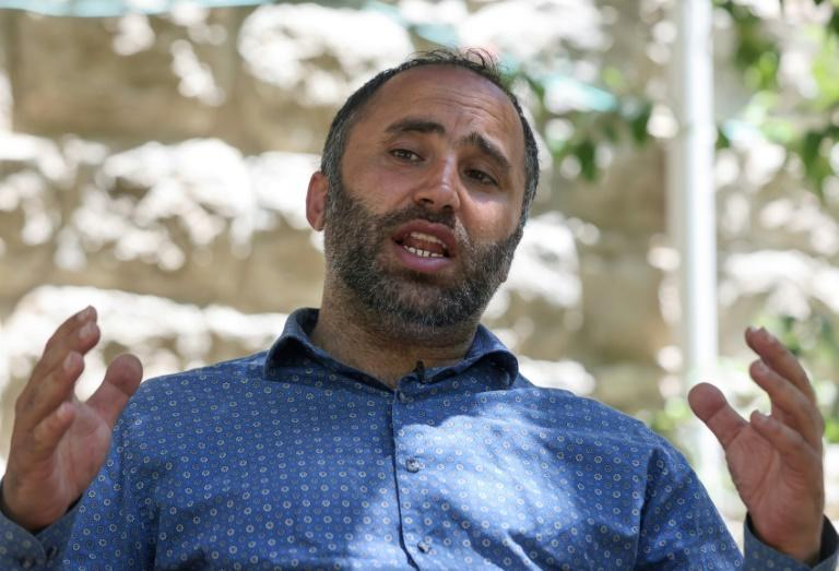 Amro has become ap prominent critic of the Palestinian Authority