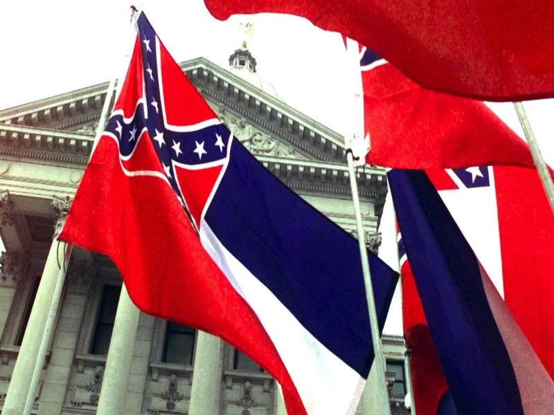 The Mississippi state flag stands for white supremacy and hate: AP