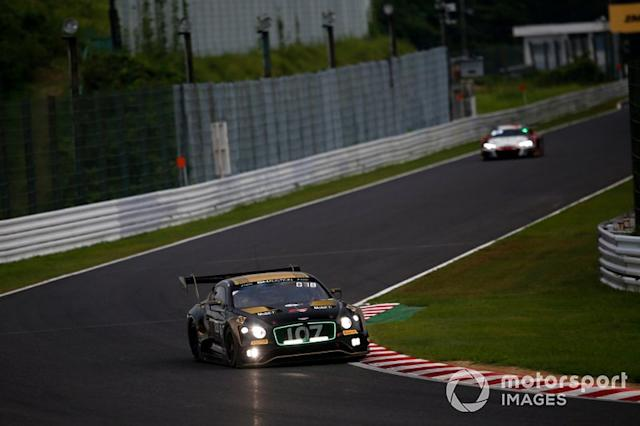 "#107 Bentley Team M-Sport Bentley Continental GT3: Steven Kane, Jules Gounon, Jordan Pepper <span class=""copyright"">Alexander Trienitz</span>"