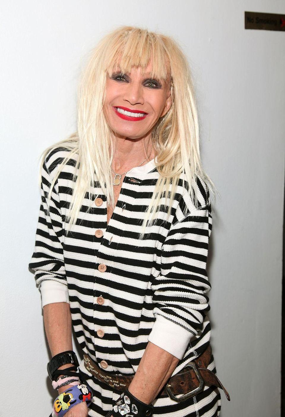<p>Fashion designer Johnson was diagnosed with breast cancer at 57. Other than telling her daughter, Lulu, she kept her battle under wraps until she was cancer-free. She is now open about her journey and is an advocate for cancer awareness. </p>