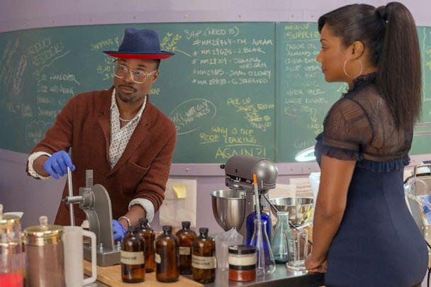 PHOTO: Billy Porter plays Barret and Tiffany Haddish plays Mia Carter in 'Like a Boss.' (Eli Joshua Ade/Paramount Pictures)