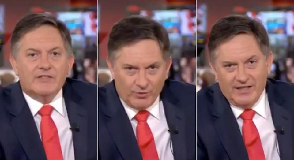 Simon McCoy was less than impressed with the subject matter (BBC)