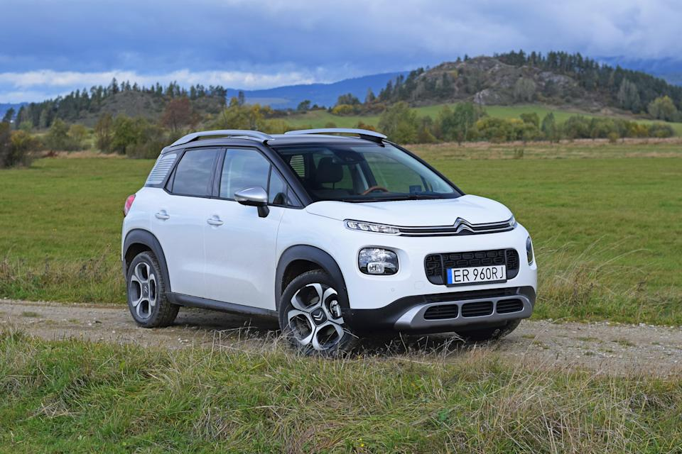 Zdiar, Slovakia - 6th October, 2017: Citroen C3 Aircross stopped on the road. The C3 Aircross is a successor of C3 Picasso model on the market.