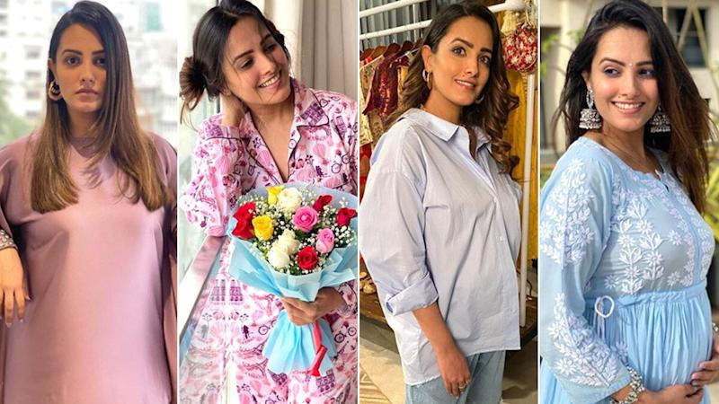 Anita Hassanandani Concealed Her Pregnancy Until Now and How, These 4 Outfits of the Naagin Beauty Totally Tricked Us (View Post)