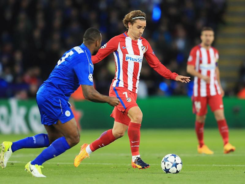 Griezmann put in a busy performance for the visitors (Getty)
