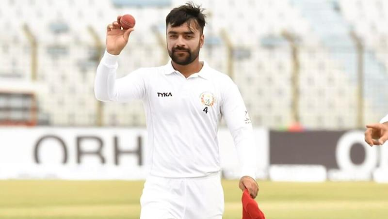 Afghanistan vs Bangladesh, One-Off Test: Rashid Khan Overtakes Imran Khan, Becomes Youngest Captain Ever to Score 50, Clinch 5 Wickets